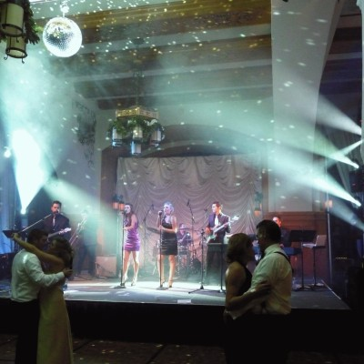 DJ & Live Band sound and Lighting at Chateau Lake Louise